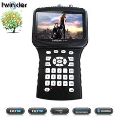 Twinkler SF-999 Combo HD Digital Satellite Finder DVBS2 DVBT2 DVBC Spectrum Analyzer Signal Meter
