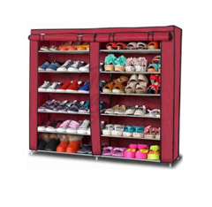 Shoe Rack - maroon