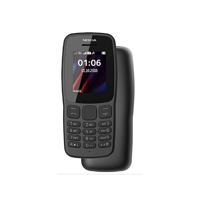 Nokia 106 Dual Sim Black
