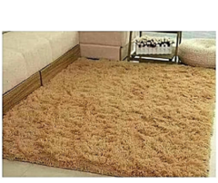 Soft Fluffy Carpet Beige 5*7