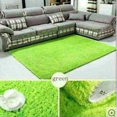Soft Fluffy Carpet Green 5*8