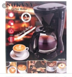 Coffee Maker Machine black 1.5 liters