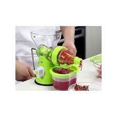 Blender- Multi function Manual Juicer- fruits and vegetable Green