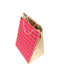 Gift bag red medium