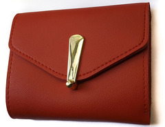 Wallet red one size