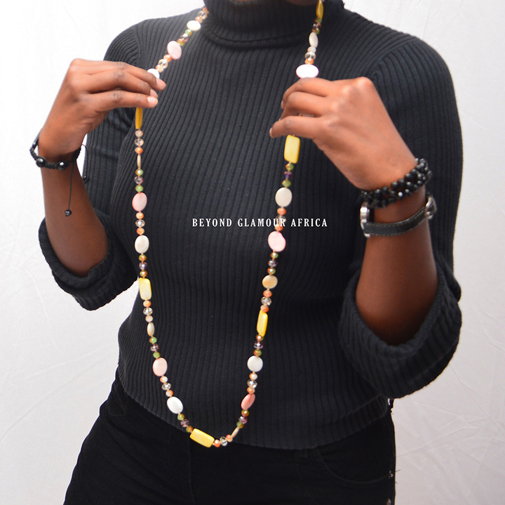 Necklace multicolor one size