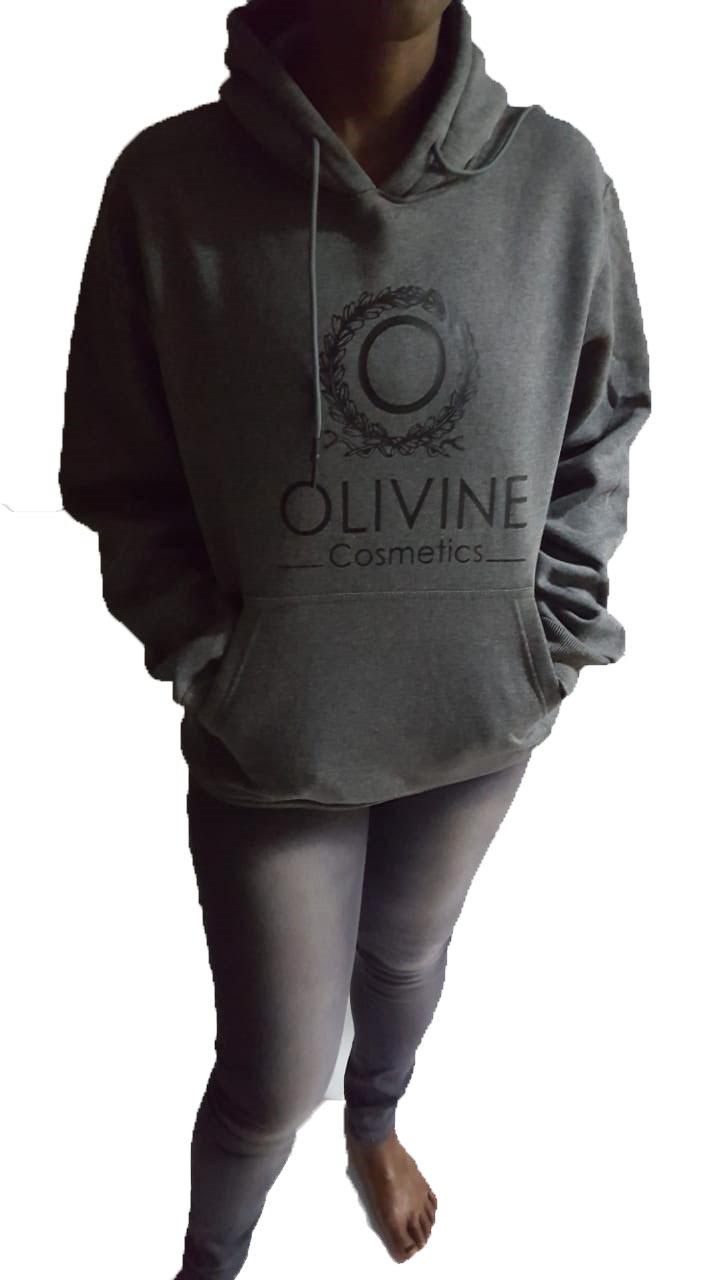 Customized hood dark grey large