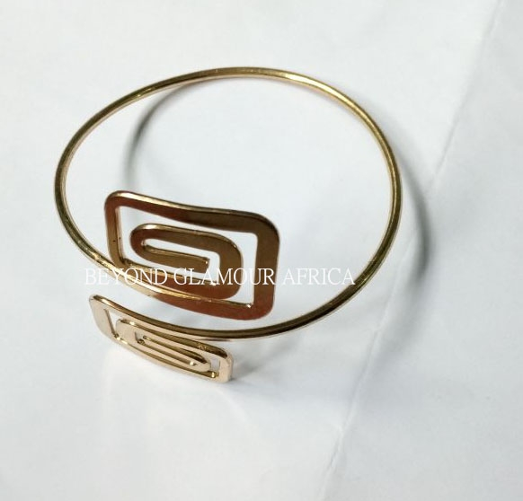 Upper arm Armlet golden one size
