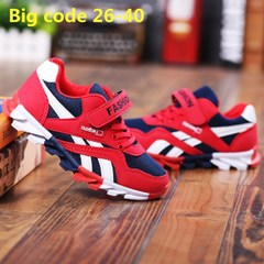 Casual Shoes boys Shoes New Children's Shoes, Medium and Big Leisure Shoes, Student's Sports Shoes RED 27