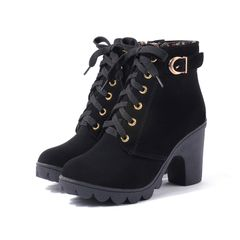 shoes women shoes heels shoes ladies boots ladies boots women boots ladies shoes  boots for women Black 41
