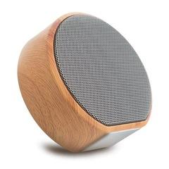 S.H.E Original wood HIFI Electronic wireless speaker grey 83mm*80mm