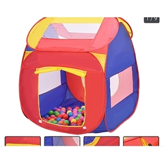 Young Kids Tents/Pop Up Play Tent Portable  Kid Playhouse Tent WITH 50 BALLS multicolor 1