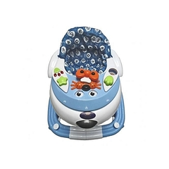 Kings Collection Kings Collection 2 in 1 Baby Walker/Rocker-light blue. blue 6mths-8yrs