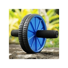 ABS Wheel Abdominal Roller Workout Exercise Arm And Waist Fitness Exerciser blue normal