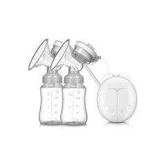 Automatic Double Electric breast pump- Intelligent BPA FREE white 2x