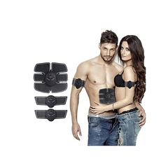 EMS Smart Abs Stimulator Training Fitness Gear Muscle Hands And Abdominal Toning Trainer
