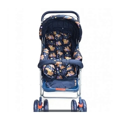 Kings Collection Baby Stroller/ Foldar With Universal Casters- multicolour multicolor -