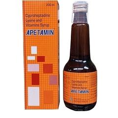APETAMIN vitamin syrup 200ML 0range