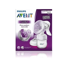 Philips AVENT Manual Breast Pump - Clear white -