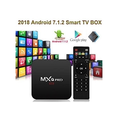 MXQ Android box 2GB + 16GB internal memory MXQ Pro 4K OTT Android 7.1 Smart TV Box CPU 4 Core, Wifi. black normal