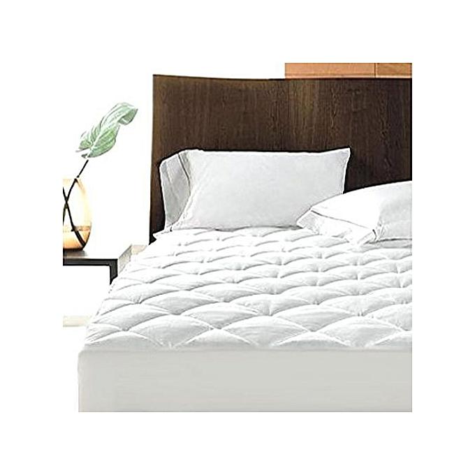 Fashion White Waterproof mattres cover white 6x6