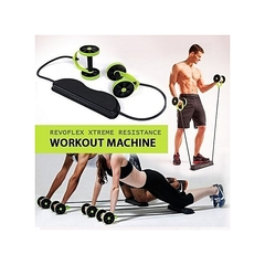 Revoflex xtreme Home Total Body Fitness Gym Abs Trainer Resistance black