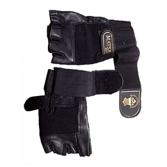 Gym gloves Sports Half Finger Gloves GYM Weight Lifting Wraps Body Building Workout Exercis black black