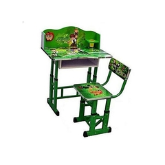 Kids Study Table And Chair Set - Computer Table Chair For Kids, Study Table And Chair Set - Green Green
