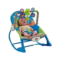 Baby Rocker with Melody,vibrations and Toys For Newborns Up to 2 years blue 0-2years