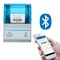 Bar Code Printer 2inch Pos Label Printer Bluetooth Barcode Android Tablet With App Thermal Printer White and Blue
