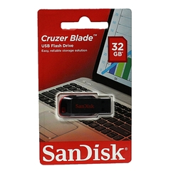 Sandisk Sandisk FlashDisk Drive - 32GB red black 32GB