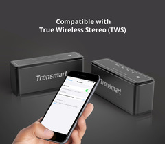 Tronsmart Element Mega Portable Wireless Bluetooth Speaker Speaker TWS Bluetooth 4.2 black 15w one model
