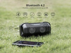 Tronsmart Blaze Outdoor Waterproof Bluetooth Speaker IPX56 Mini Portable Speaker LED Light Original black 15w one model