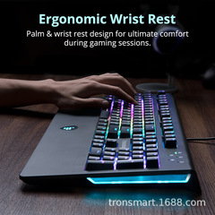 Tronsmart TK09R RGB mechanical gaming keyboard US version