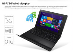 New win10 installation dual system two-in-one ultra-thin multi-function office software tablet 2+32G black