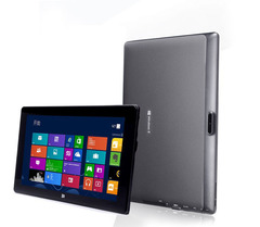 New win8 installation dual system two-in-one ultra-thin multi-function office software tablet 4G+64G black