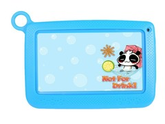 New children's student 7 inch tablet Android Q88 learning English tablet tutor blue