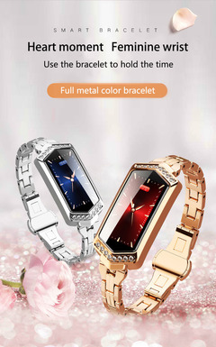 J1/B78 female smart bracelet physiological cycle heart rate sports fashion bracelet bracelet all colors one size