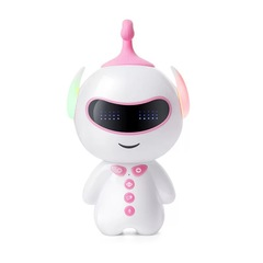 Children's intelligent robot New intelligent early education machine Dialogue high-tech pink one size
