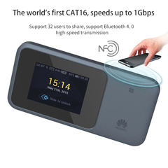 E5788 Cat16 Quasi 5G Wireless Router 4CC+256QAM 4X4MiMO MiFi Mod blue one