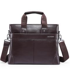 hot sell new arrival luxury designer leather men handbag bag,classic men's travel bags,large famous brand men messenger bags Black&Brown