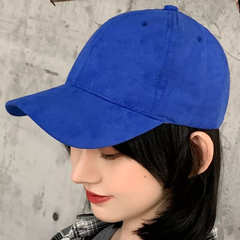 fashion Men Hip-Hop Hat Women Leisure Embroidery Baseball Hat Sunshade Hat blue one size