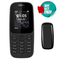 Nokia 105 featured phones 2G Dual SIM FM Mobile phones nokia105 Cheap cell phone black