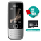 Nokia 2730C featured phone  camera phone GSM WCDMA BT FM mobile phone cell phone nokia2730 black