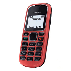 Nokia 1280 2G feature phone FM mp3 cheap cellphone mobile phone Nokia1280 red