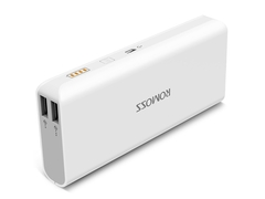 ROMOSS sense4 10000 Ma mobile power mobile phone universal charging treasure white 10400mAh