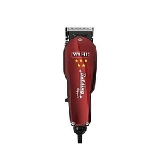 Professional 5 Star Hair Clipper Balding Shaving Machine Maroon 15 cm