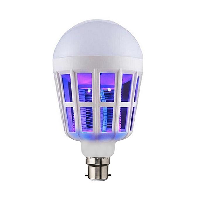 Mosquito Killer Lamp Watt Energy Saving LED Bulb white