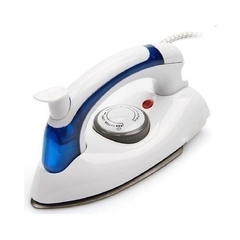 Easily Portable & Foldable Steam Iron Box White