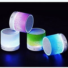 One Piece Mini Wireless Bluetooth Speaker LED Lighting Multicolored